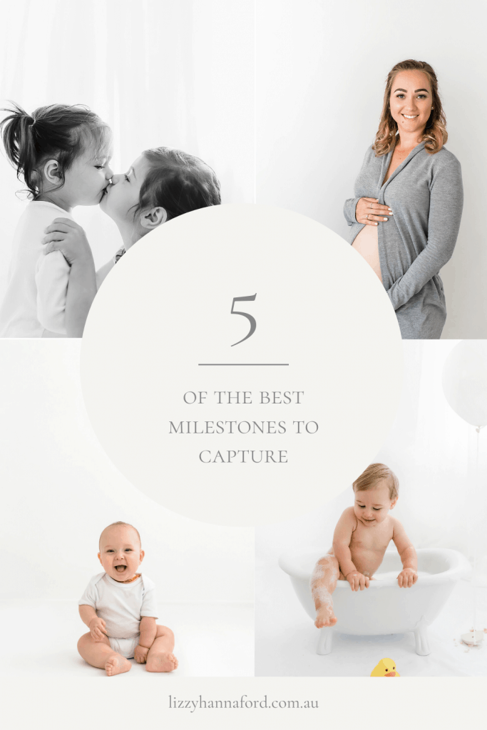 5 of the best milestones to capture