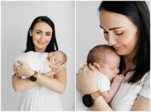 baby boy newborn photos by cairns baby photographer Lizzy Hannaford Photography