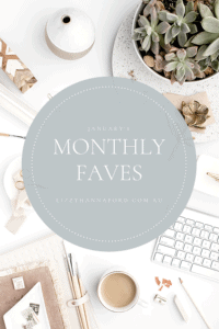 monthly favourites with Lizzy Hanford photography