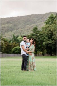 natural photos cairns beach family photoshoot  by cairns family photographer Lizzy Hannaford