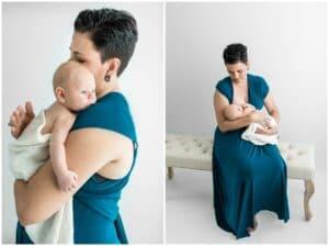 mum and newborn baby photo by cairns newborn photographer Lizzy Hannaford Photography
