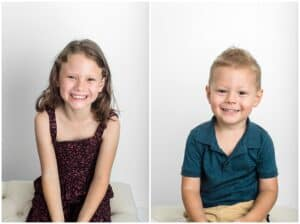 sibling photos by cairns family photographer Lizzy Hannaford Photography