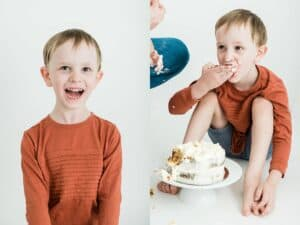cake smash photography cairns by cairns family photographer Lizzy Hannaford Photography