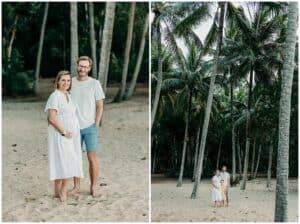 Kewarra Beach cairns maternity family photoshoot by cairns family photographer Lizzy Hannaford Photography